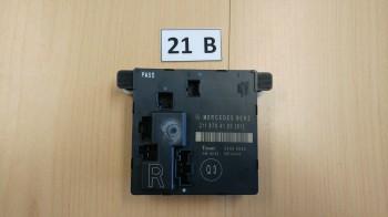 Mercedes W211 Türmodul Steuereinheit Tür HINTEN RECHTS 2118704126