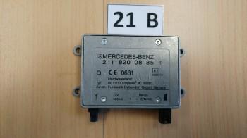 Mercedes W211 S211 Steuergerät 4-fach Sitzheizung + SB Temic A2118702126