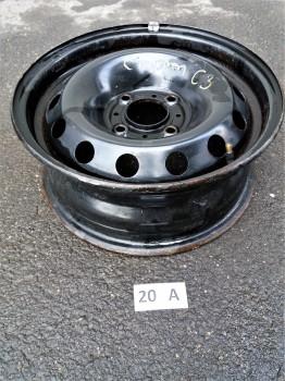 Citroen C3 Stahlfelge 5,5x14 ET24 5401.K