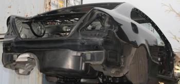 Mercedes CLK W209 Seitenwand