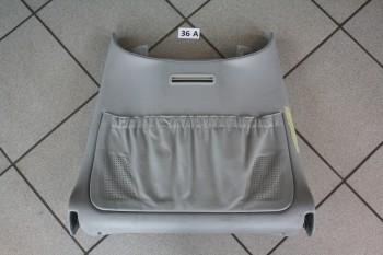 Mercedes W220 Rücklehne Verkleidung links Fahrersitz 2209100639
