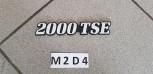 Original Renault Espace I Emblem 2000 TSE