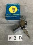 NEU Fiat 126 Schloss Heckklappe Chrom + 2 Schlüssel - 067526